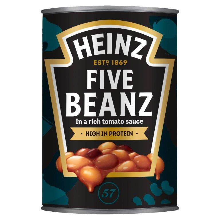 Heinz Five Baked Beans Tomato Sauce 415g