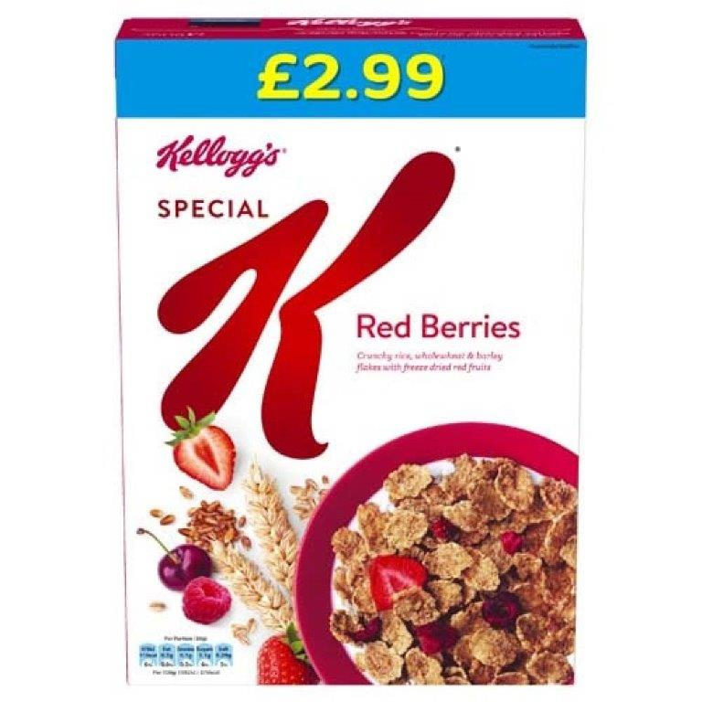 Kellogg's Special K Red Berries 330g PM £2.99