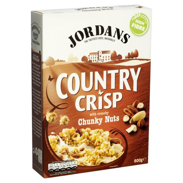 Jordans Country Crisp Chunky Nuts 500g
