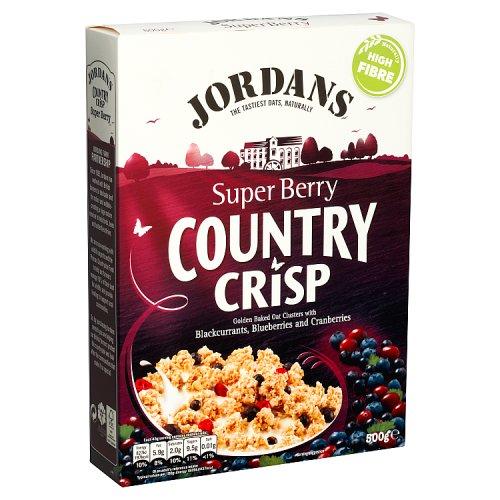 Jordans Country Crisp Super Berry 500g