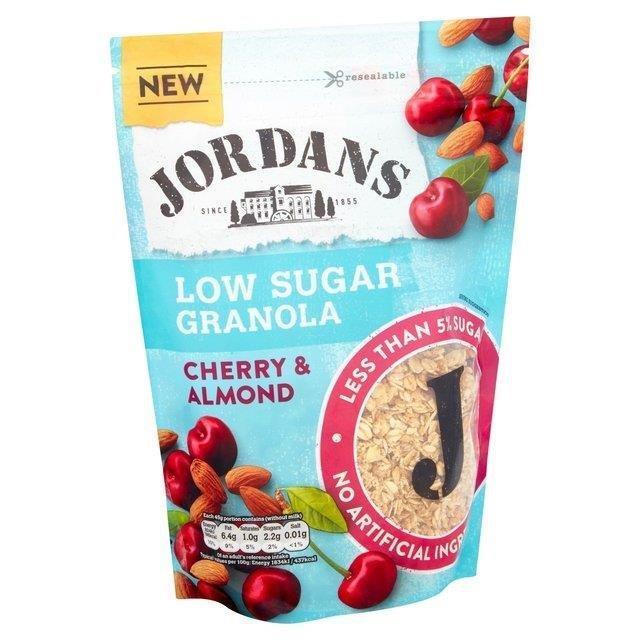 Jordans Low Sugar Granola Cherry & Almond Bag 500g