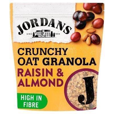 Jordans Crunchy Oat Granola Raisin & Almond Bag 750g