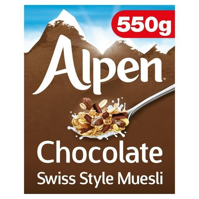 Alpen Chocolate 550g