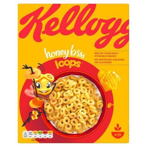 Kellogg's Honey Bee Loops 375g