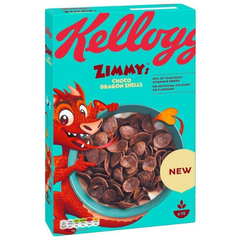 Kellogg's Zimmy's Choco Shells 450g