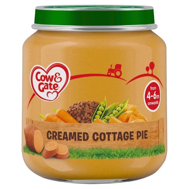 Cow & Gate (4 - 6 Months) Creamed Cottage Pie Jar 125g
