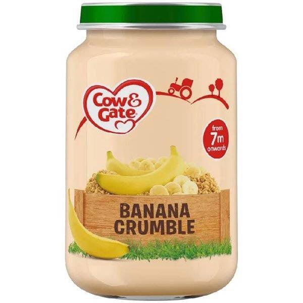 Cow & Gate (7+ Months) Banana Crumble Jar 200g