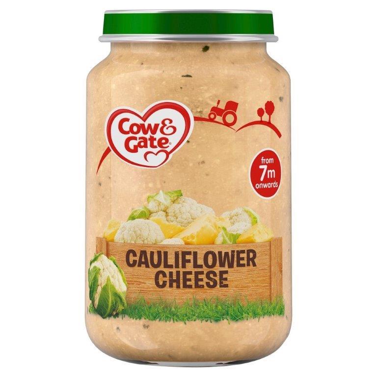 Cow & Gate (7+ Months) Creamy Cauliflower Cheese Jar 200g
