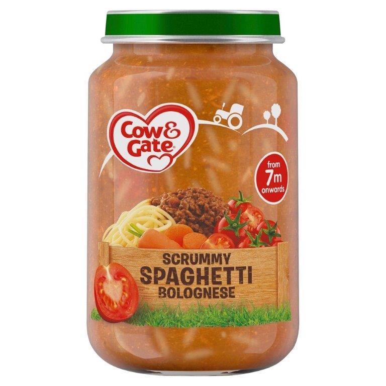 Cow & Gate (7+ Months) Spaghetti Bolognese Jar 200g