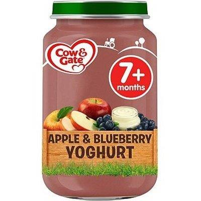 Cow & Gate (7+ Months) Apple & Blueberry Yoghurt Jar 200g