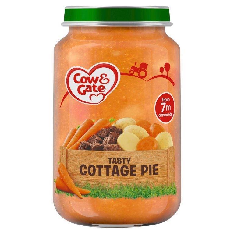 Cow & Gate (7+ Months) Tasty Cottage Pie Jar 200g