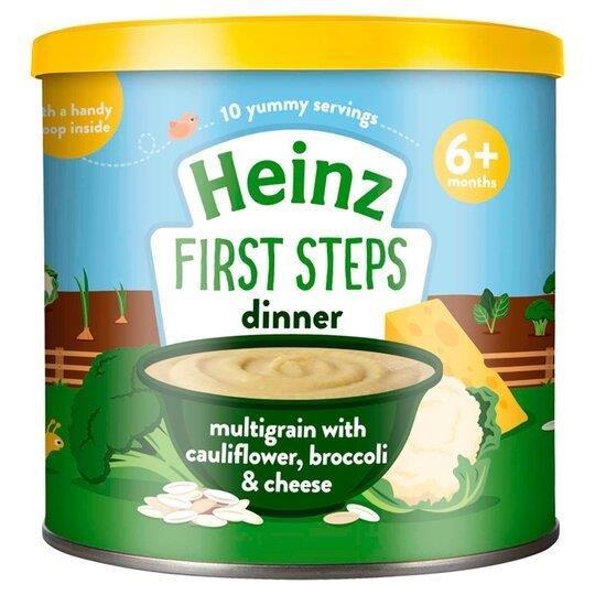Heinz First Steps Multigrain Cauliflower Broccoli Cheese 200g