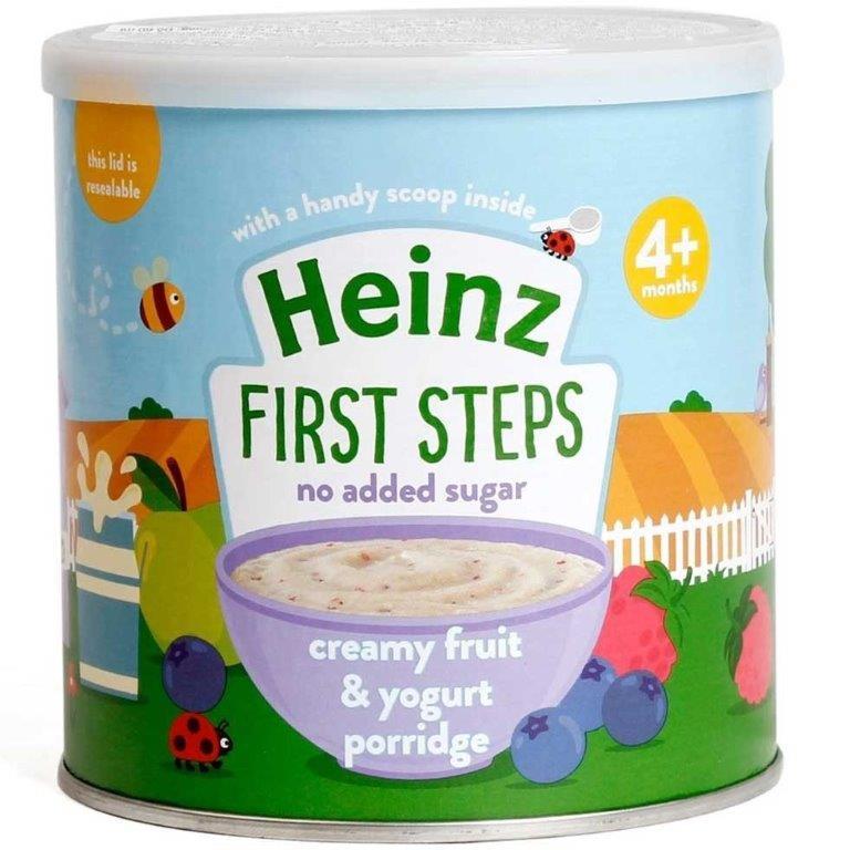 Heinz First Steps Porridge Creamy Fruit & Yogurt 240g