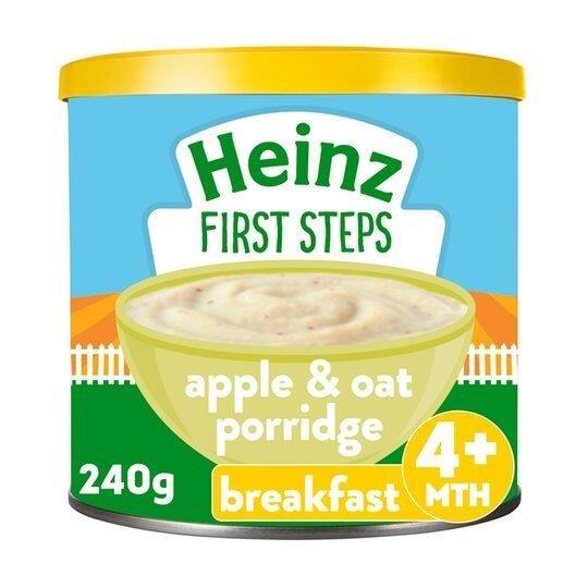 Heinz First Steps Porridge Creamy Oat & Apple 240g