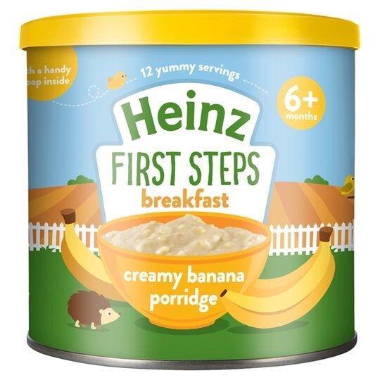 Heinz First Steps Porridge Creamy Banana 240g