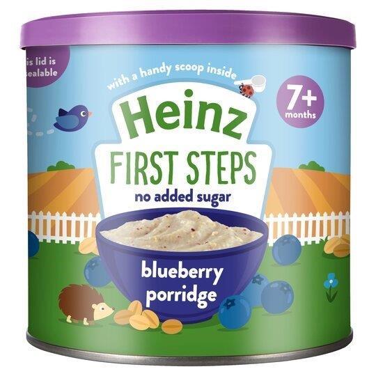 Heinz First Steps Porridge Blueberry 240g