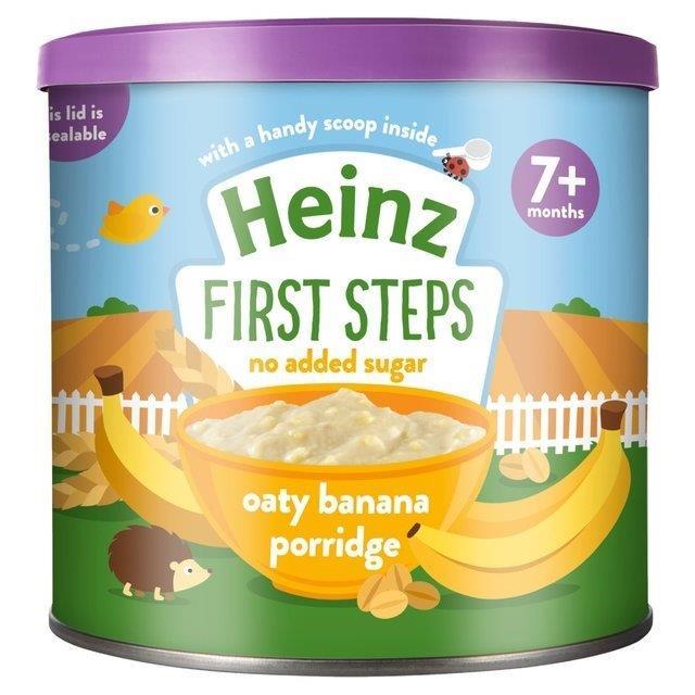Heinz First Steps Porridge Oaty Banana 240g