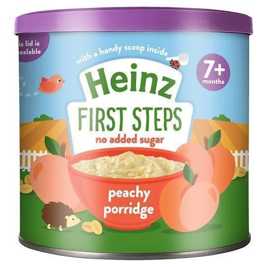 Heinz First Steps Porridge Peachy 240g
