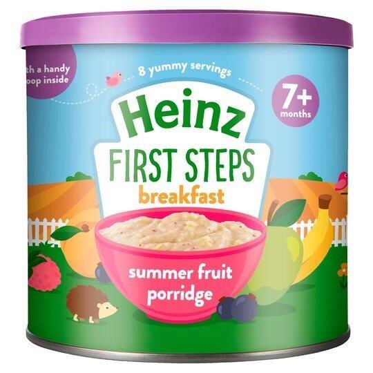 Heinz First Steps Porridge Summer Fruit 240g