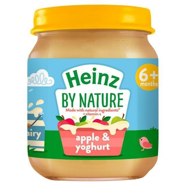 Heinz Jar 6m+ Apple & Yoghurt 120g