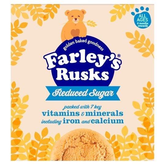 Farley's Rusks 18's Reduced Sugar 300g