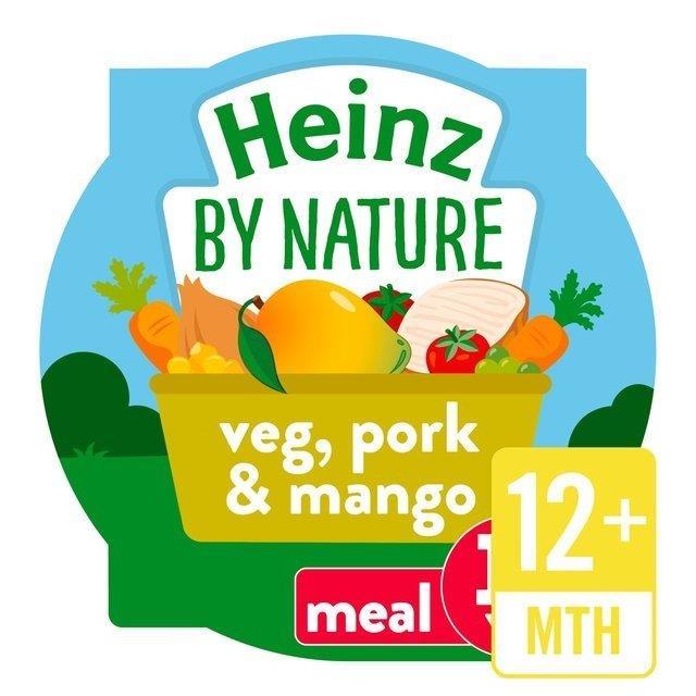 Heinz Tray Veggies, Pork & Mango 230g