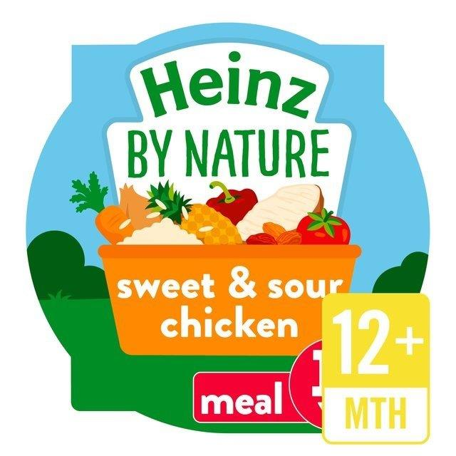 Heinz Tray Sweet Sour Chicken & Rice 230g