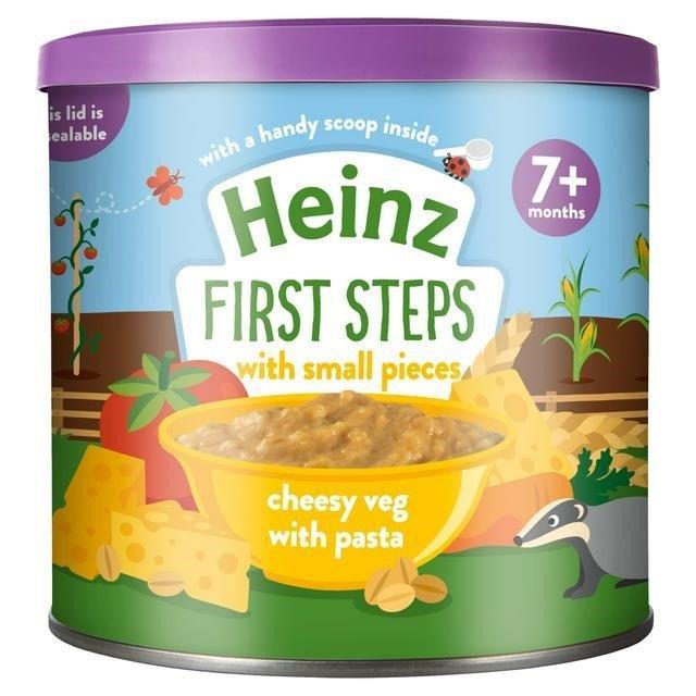 Heinz First Steps Cheesy Veg Pasta 200g