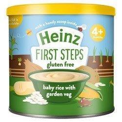 Heinz First Steps Baby Rice Garden Veg 200g