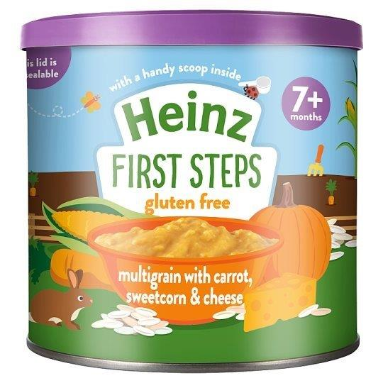 Heinz First Steps Multigrain With Carrot Sweetcorn & Cheese 200g