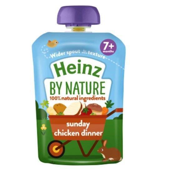 Heinz Pouch 7m+ Sunday Chicken Dinner 130g