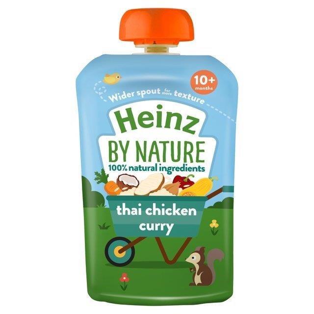 Heinz Pouch 10m+ Thai Chicken Curry 100% 180g