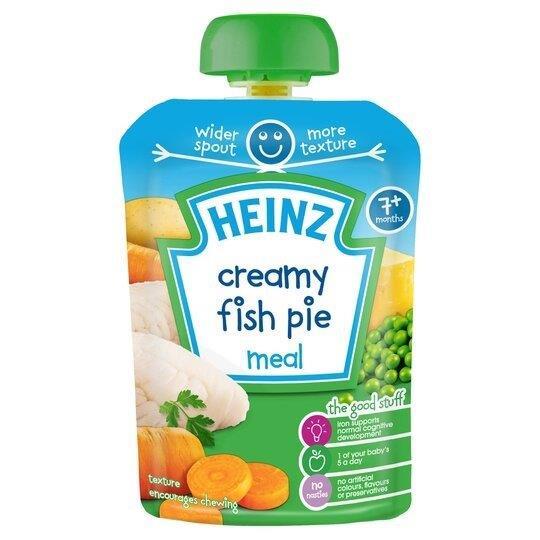 Heinz Pouch 7m+ Fish Pie 100% Natural 130g