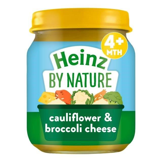 Heinz Jar 4m+ Cauliflower, Broccoli & Cheese 120g
