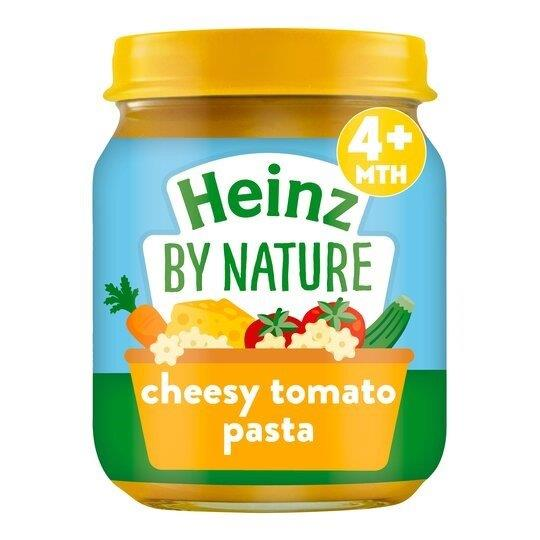 Heinz Jar 4m+ Cheesy Tomato Pasta 120g