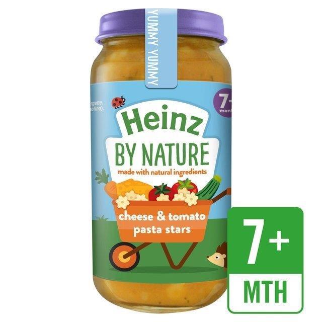 Heinz Jar 7m+ Cheesy Tomato Pasta Star 200g