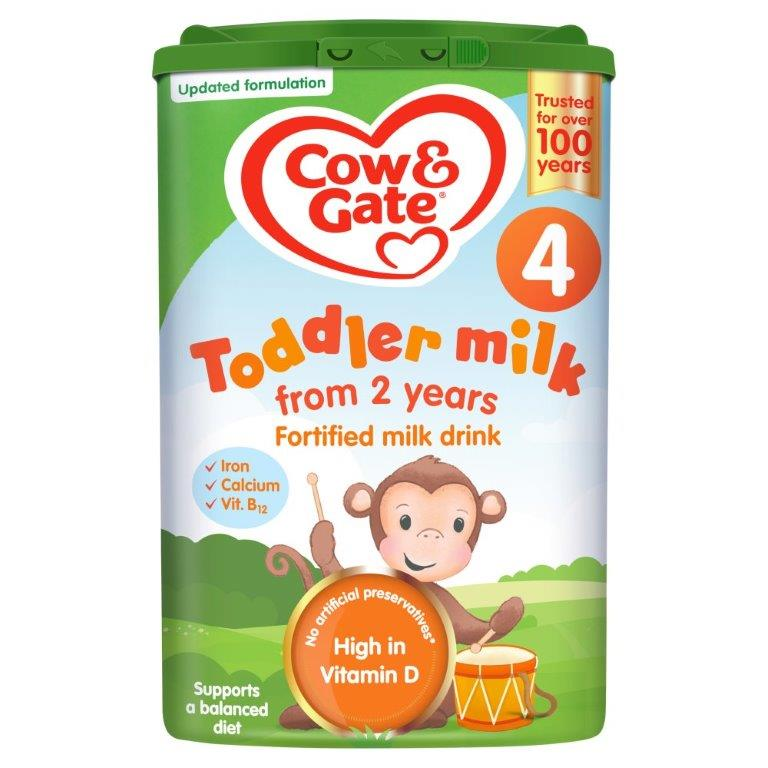 Cow & Gate Growing Up Milk 2-3 Years (Stage 4) 800g