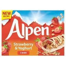 Alpen Bar 5pk Strawberry & Yoghurt (5 x 29g)