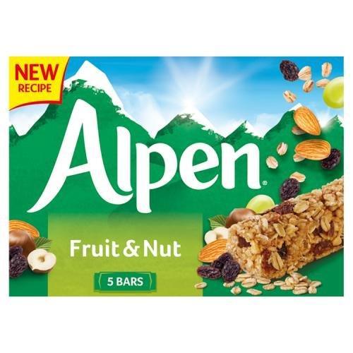Alpen Bar 5pk Fruit & Nut Cereal Bar (5 x 28g)