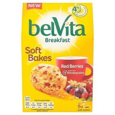 Belvita Soft Bakes Red Berries 5's 250g