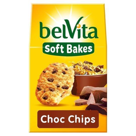 Belvita Soft Bakes Chocolate Chip 5's 250g