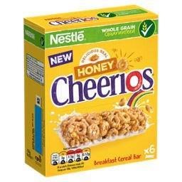 Nestle Cereal Bar Honey Cheerios 6pk (6 x 22g)