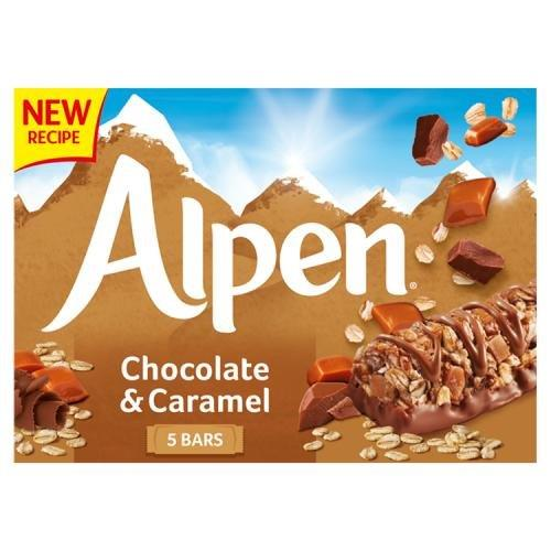 Alpen Bar 5pk Caramel & Chocolate (5 x 29g)