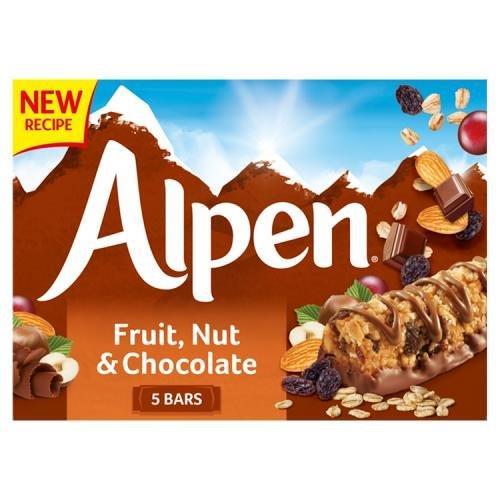 Alpen Bar 5pk Fruit, Nut & Chocolate (5 x 29g)