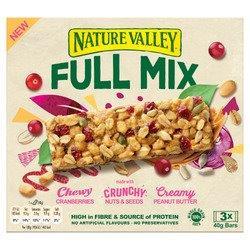 Nature Valley Full Mix Cranberry & Peanut Butter 3pk (3 x 40g)