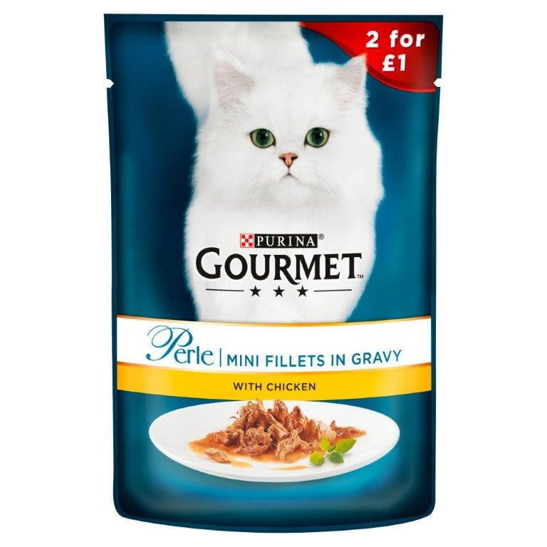 Gourmet Perle Chicken Pouch 85g PM 2 For £1