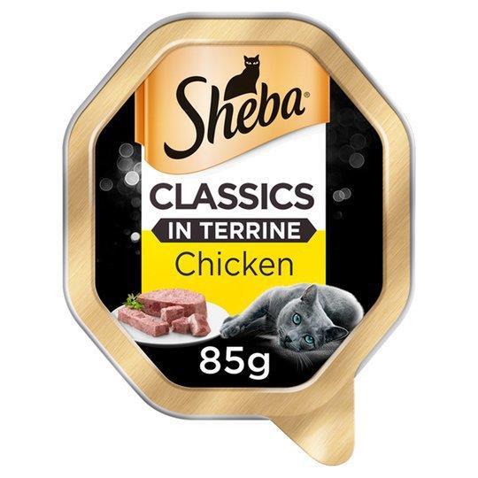 Sheba Classics Cat Tray With Chicken In Terrine 85g (Kosher)