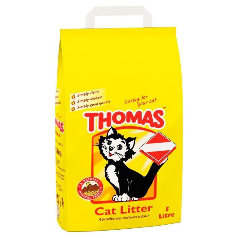 Thomas Cat Litter 5L PM £3.49