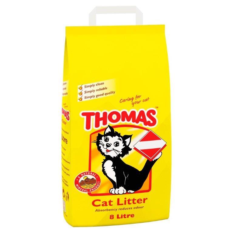 Thomas Cat Litter 8L PM £4.49
