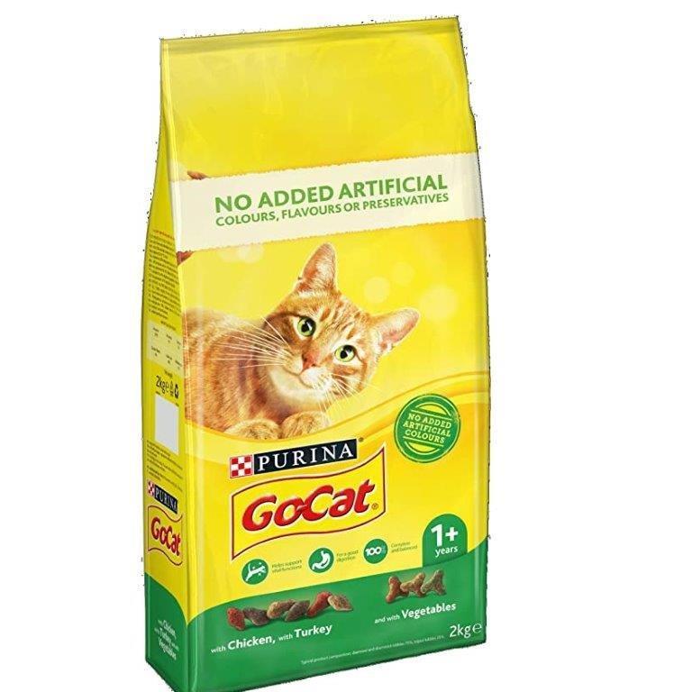 Go-Cat Turkey&Chicken&Veg 2Kg 2kg
